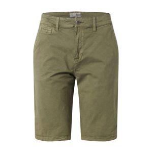 !Solid Chino kalhoty 'Ron'  olivová