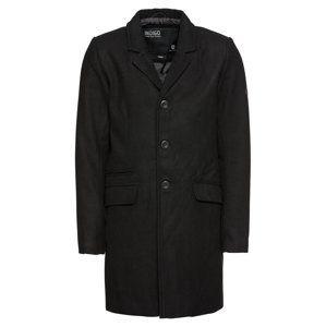 INDICODE JEANS Přechodný kabát 'Mathieu Solid'  černá