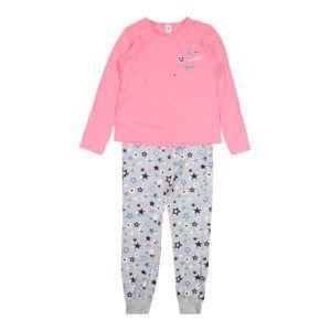 SANETTA Pyžamo  šedá / pink
