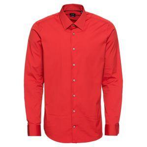 JOOP! Společenská košile '17 JSH-63Pierce 10000629 02'  červená