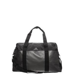 ADIDAS PERFORMANCE Sportovní taška  stříbrně šedá / černá