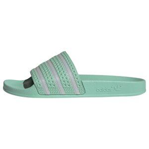 ADIDAS ORIGINALS Plážová/koupací obuv 'Adilette'  mátová / stříbrná