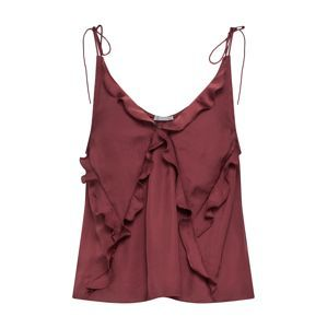 Free People Top 'COULD BE CAMI'  bordó