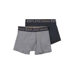 SANETTA Spodní prádlo 'DP Hipshort '  modrá / šedá