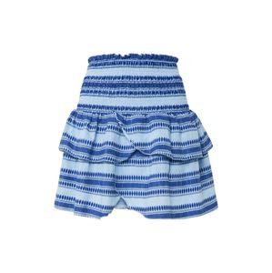 Neo Noir Sukně 'Carin Stitch Skirt'  světlemodrá