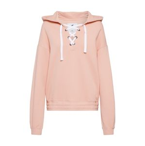 HOLLISTER Mikina 'BTS19-DTC LACE UP FLEECE PO 3CC'  růžová