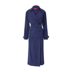 HUGO Přechodný kabát  modrá