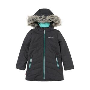 TROLLKIDS Outdoorová bunda 'Lifjell'  mátová / šedý melír / tmavě šedá