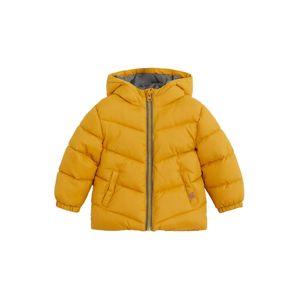 MANGO KIDS Zimní bunda  žlutá