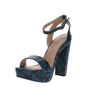 CALL IT SPRING Páskové sandály 'HAAUDIA'  tyrkysová