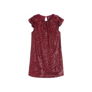 MANGO KIDS Šaty  rubínově červená