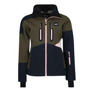 Picture Organic Clothing Sportovní bunda 'SEEN'  námořnická modř / khaki / růžová