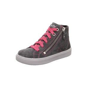 SUPERFIT Tenisky  tmavě šedá / pink