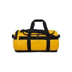 THE NORTH FACE Sportovní taška  žlutá / černá