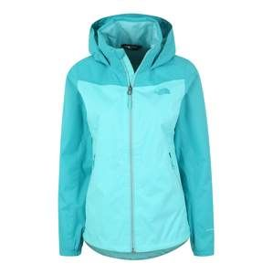 THE NORTH FACE Sportovní bunda 'W RESOLVE PLUS JKT'  aqua modrá
