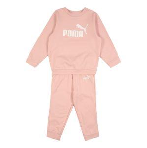 PUMA Sportovní oblečení 'Minicats'  růžová / bílá