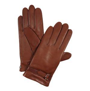 ROECKL Prstové rukavice 'Delicate Buckle'  hnědá