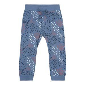 NAME IT Kalhoty  chladná modrá / bílá / melounová / černá