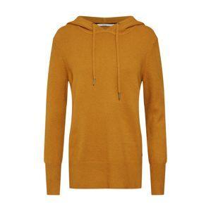 EDC BY ESPRIT Svetr 'hooded sweater'  zlatě žlutá