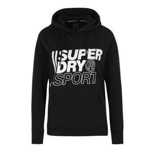 Superdry Sportovní mikina 'Core Sport Overhead'  černá