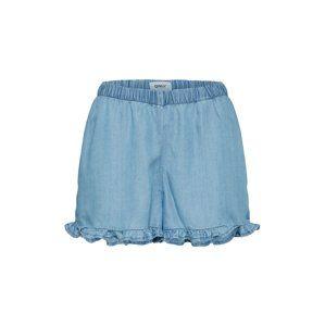 ONLY Kalhoty 'onlGIGI FRILL'  modrá džínovina