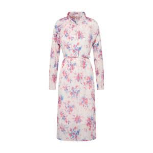RUE De FEMME Šaty 'New Millie'  béžová / modrá / pink