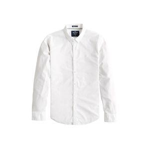 HOLLISTER Košile 'SOLID OXFORD'  bílá