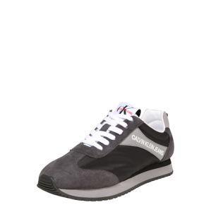 Calvin Klein Jeans Tenisky 'JERROLD'  tmavě šedá / černá / bílá