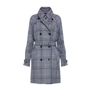 BOSS Přechodný kabát 'Omiah'  černá / bílá