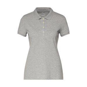 GAP Tričko 'PIQUE POLO'  šedý melír