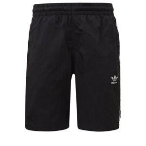 ADIDAS ORIGINALS Plavecké šortky  černá / bílá