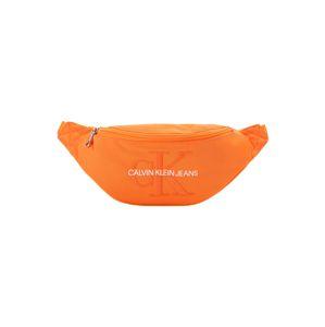 Calvin Klein Jeans Ledvinka 'MONOGRAM STREET PACK'  oranžová