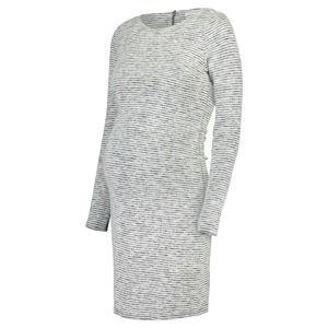 Noppies Šaty ' Silje '  šedá / šedý melír / offwhite