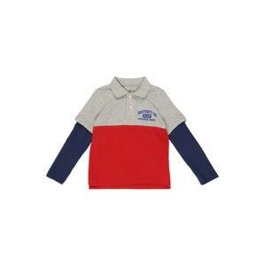 GAP Tričko 'V-LS2N1GRPOLO'  červená
