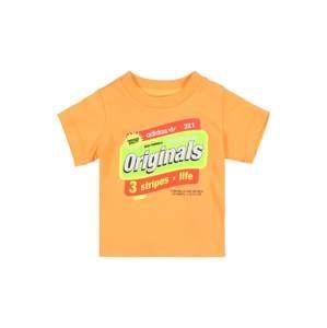 ADIDAS ORIGINALS Tričko  tmavě oranžová