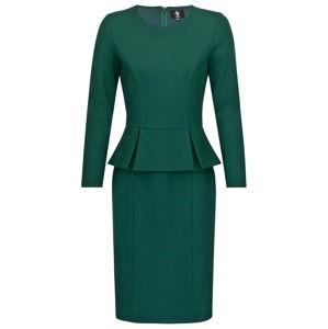 Four Flavor Pouzdrové šaty 'CLASSIC YUMA'  tmavě zelená