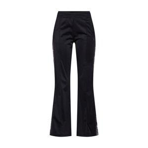 Champion Authentic Athletic Apparel Kalhoty 'Straight Hem Pants Brand Manifesto'  černá / bílá