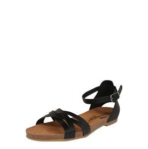 COSMOS COMFORT Sandale  černá