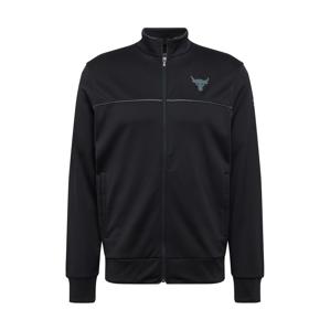 UNDER ARMOUR Sportovní bunda  černá / tmavě šedá
