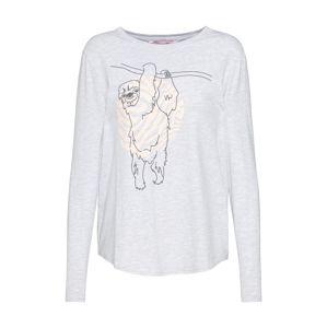 Hunkemöller Tričko na spaní 'Sloth'  šedá