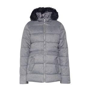 Dorothy Perkins Zimní bunda ' SHORT FUR PADDED'  šedá