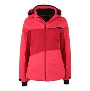 CMP Outdoorová bunda  červená / melounová / černá