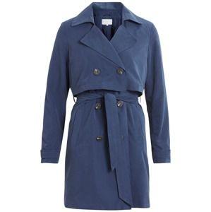 VILA Přechodný kabát 'VIMOLLY'  noční modrá