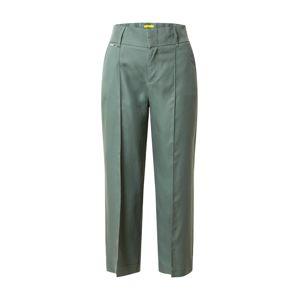 STREET ONE Kalhoty 'LTD QR Emee Wide Leg'  tmavě zelená
