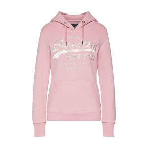 Superdry Mikina 'PREMIUM GOODS LUXE EMB ENTRY HOOD'  pink