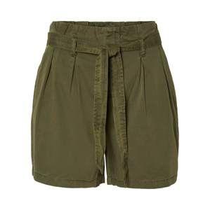 VERO MODA Kalhoty  zelená