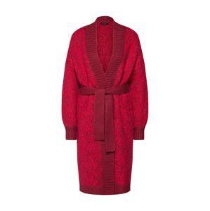 SELECTED FEMME Pletený kabátek 'SLFGABA LS KNIT CARDIGAN'  pitaya / červená třešeň