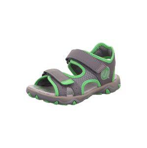SUPERFIT Otevřená obuv 'MIKE 3.0'  šedá / trávově zelená
