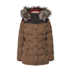 Khujo Zimní bunda 'WINSEN3 WITH RC'  hnědá / červená / černá / bílá