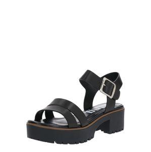 MTNG Páskové sandály 'PLEXY'  černá